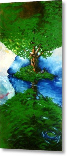 Trees Metal Print by Douglas Martin