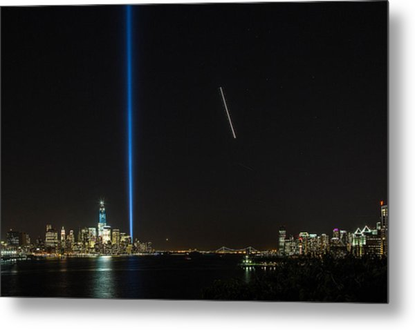 Tribute In Light Metal Print by John Dryzga