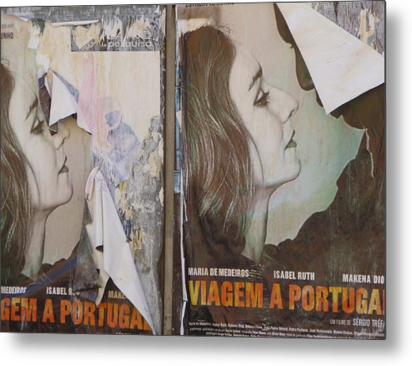 Trip To Portugal Metal Print by Alexis Shields