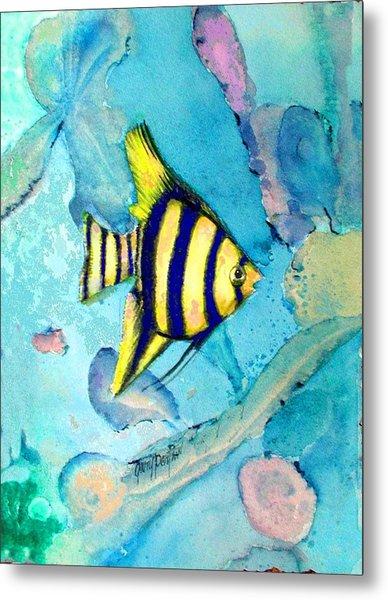 Tropical Fish I Metal Print