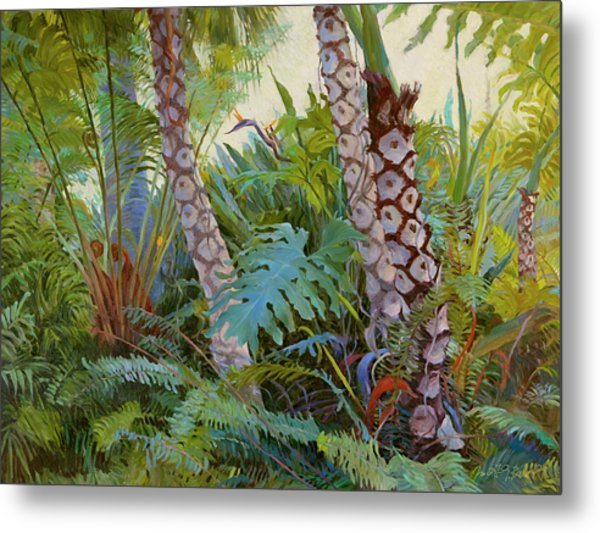 Tropical Underwood Metal Print