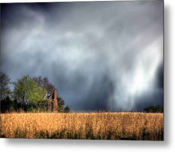 Trouble Brewing  Metal Print by JC Findley