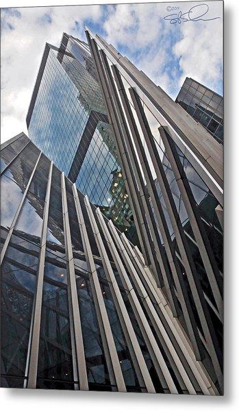 Trylon Towers Metal Print