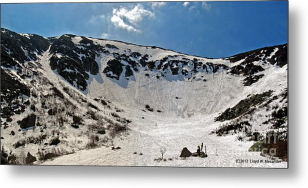 Tuckermans Ravine Metal Print