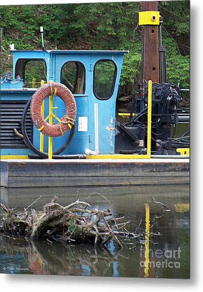 Tug Boat Metal Print by Tammy Ishmael - Eizman