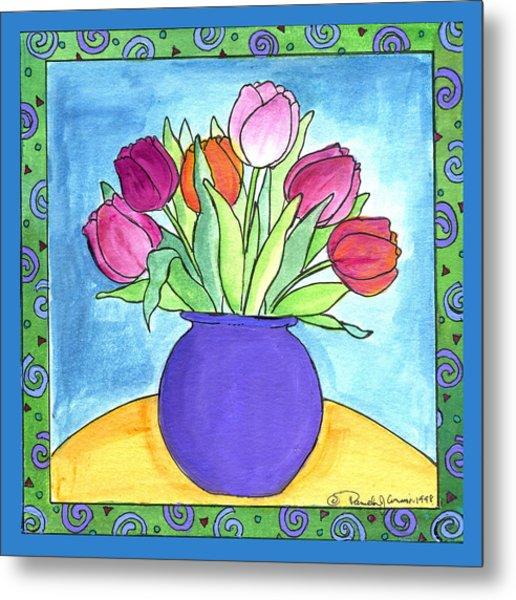 Tulips Metal Print by Pamela  Corwin