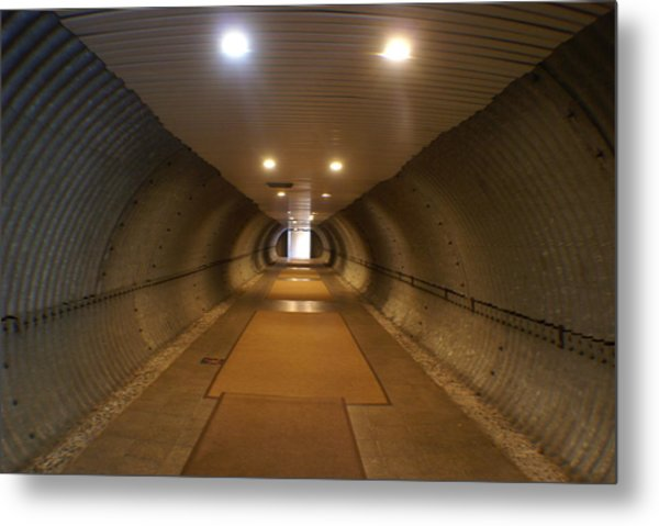 Tunnel Metal Print by Margaret Steinmeyer