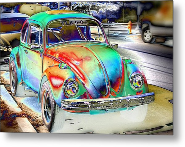 Turbo Bug Metal Print