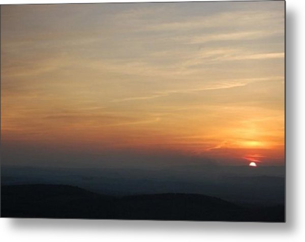 Turkey Heaven Sunset Metal Print by Beverly Hammond