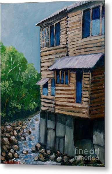 Turrialba's House Metal Print
