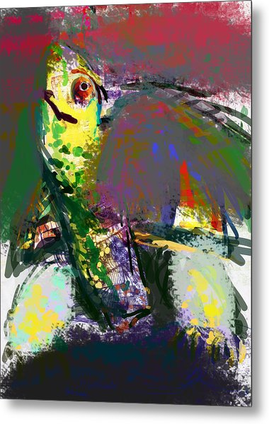 Turtle Metal Print by James Thomas