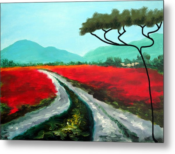 Tuscan Bliss Metal Print