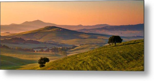 Tuscan Morning Metal Print by Daniel Sands