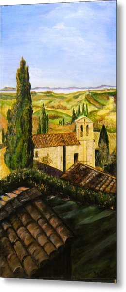 Tuscany Ll Metal Print