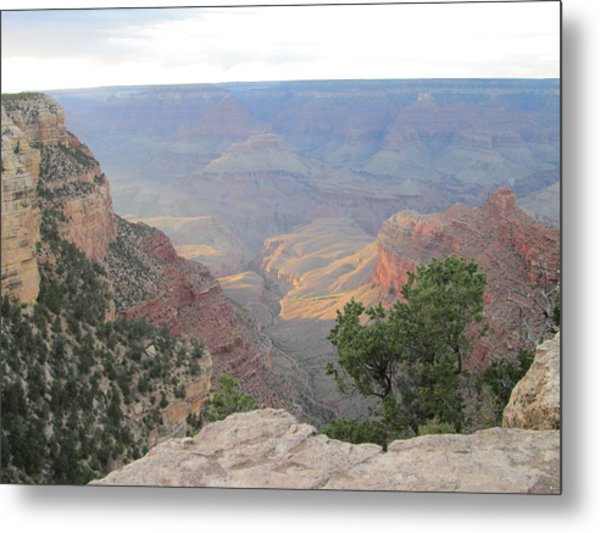 Twilight At Grand Canyon Metal Print by Pasha Sourbeer