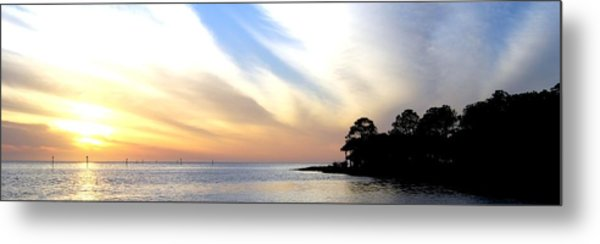 Twilight On The Gulf Metal Print