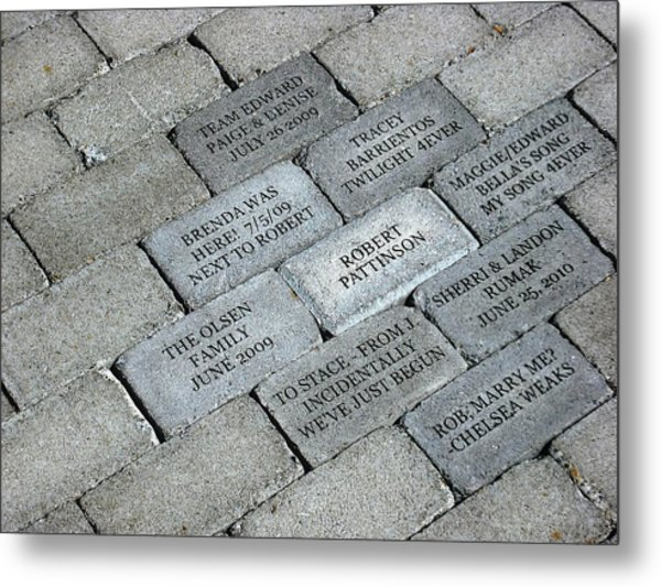 Twilight Walk Of Fame Metal Print
