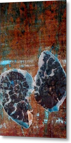 Twin Fossils Metal Print by Emma Manners