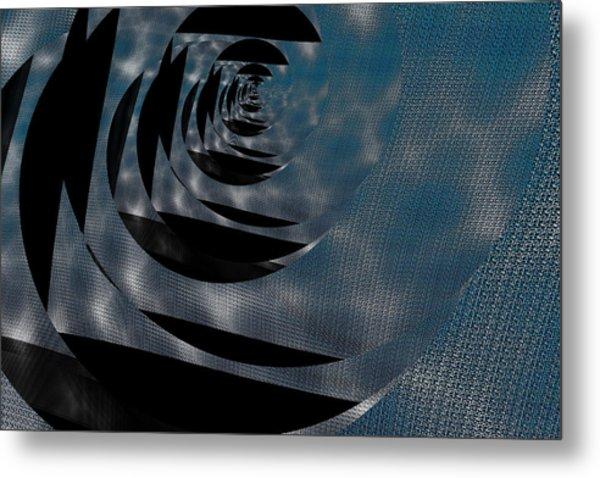 Twirling Shine Metal Print by Mihaela Stancu