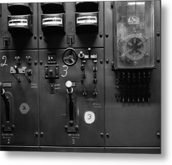 Two And Three Switches Metal Print by Jan W Faul