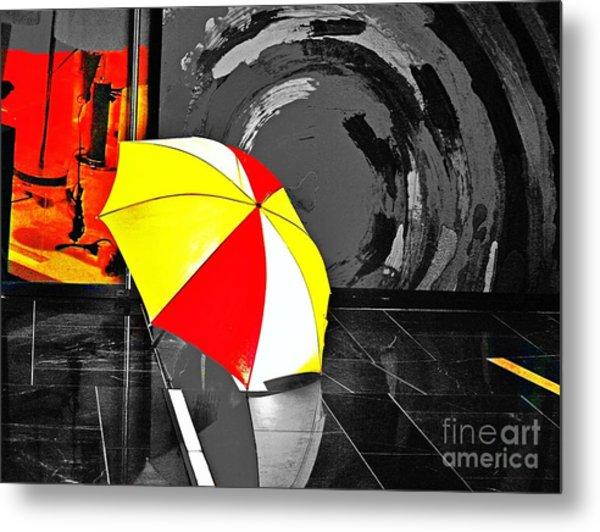 Umbrella 2 Metal Print
