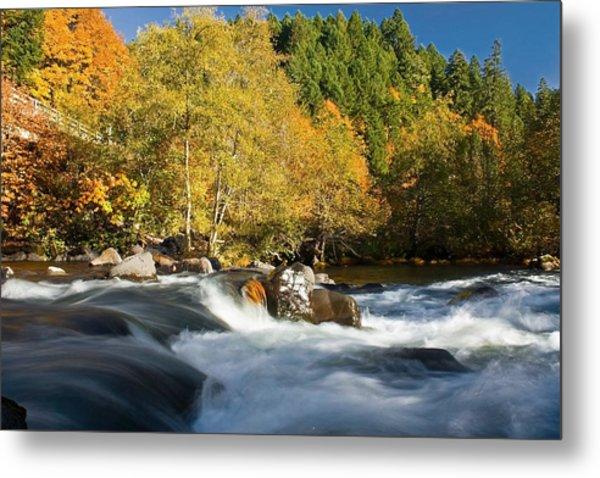 Umpqua River Color Photograph By Tyra OBryant