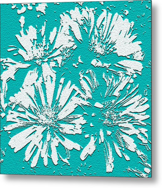 Under A Turquoise Sky Metal Print by Yvonne Scott