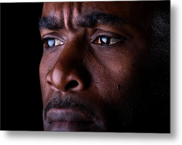 Uneasy Thoughts Metal Print