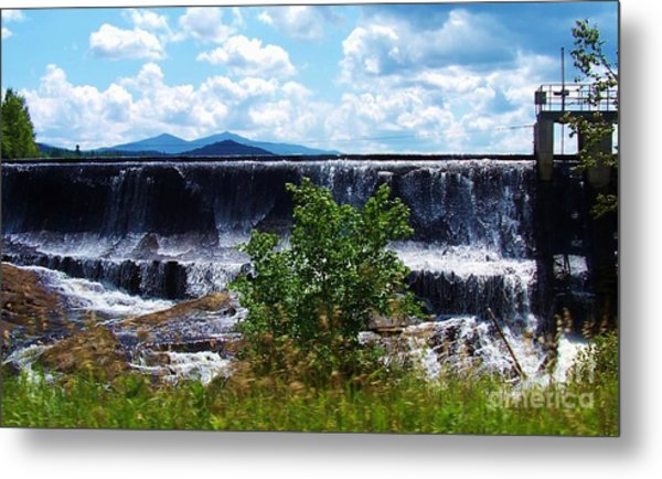 Union Falls  Metal Print by Peggy Miller