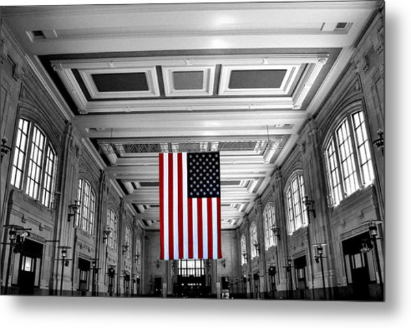 Union Glory Metal Print