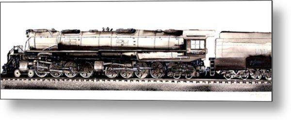 Union Pacific 4-8-8-4 Steam Engine Big Boy 4005 Metal Print