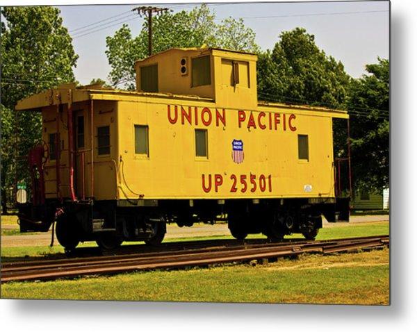 Union Pacific Metal Print by Barry Jones