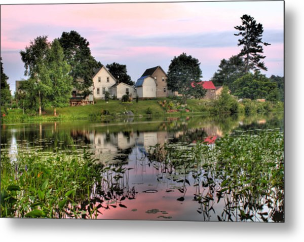 Union River Sunset  Metal Print