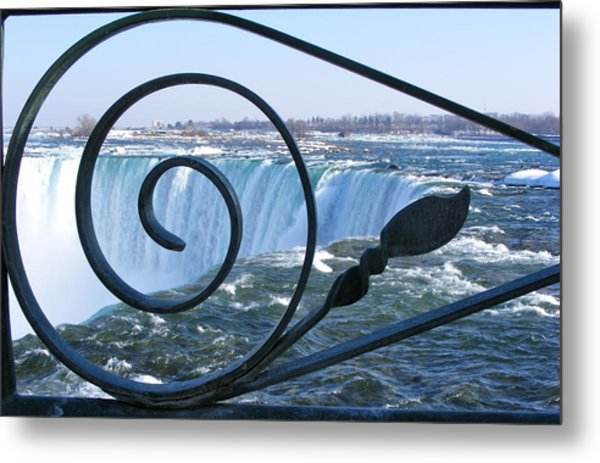Unique Niagara Falls Metal Print