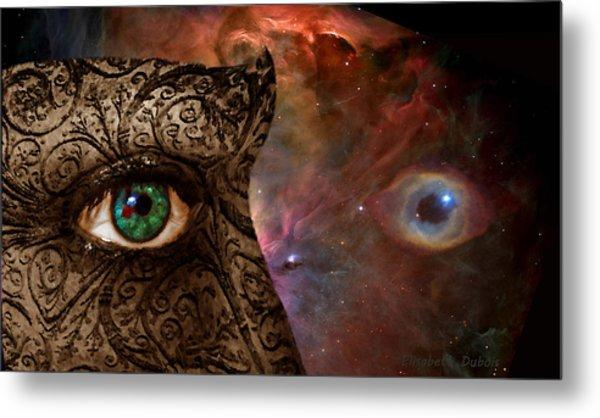 Universal Eyes Metal Print