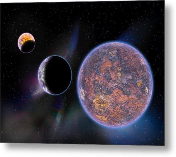Unknown Worlds Metal Print by Barry Jones