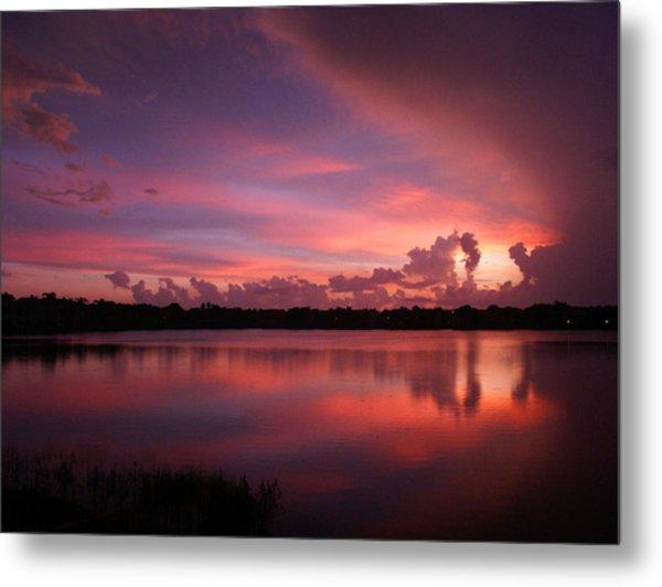 Untitled Sunset-1 Metal Print