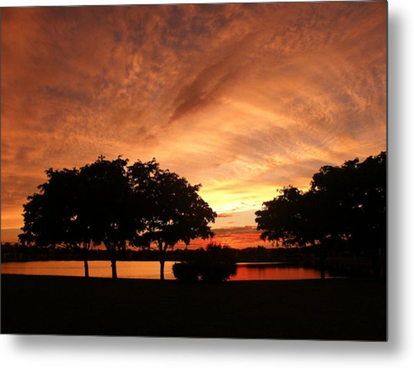 Untitled Sunset-19 Metal Print
