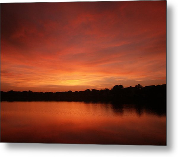 Untitled Sunset-28 Metal Print