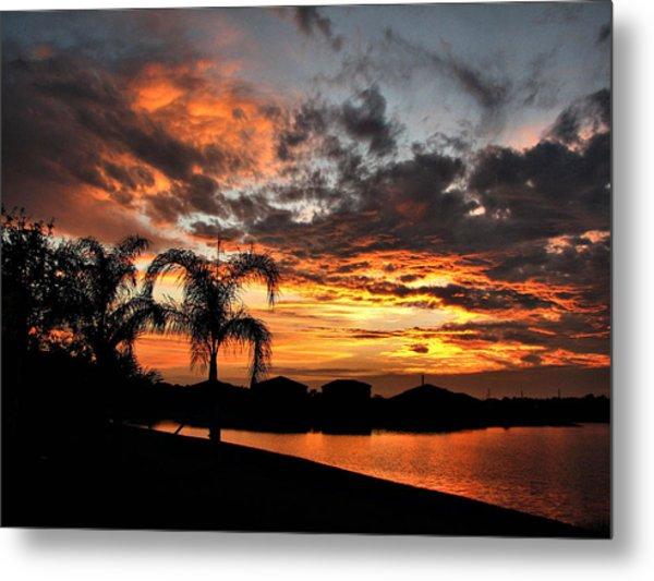 Untitled Sunset-8 Metal Print