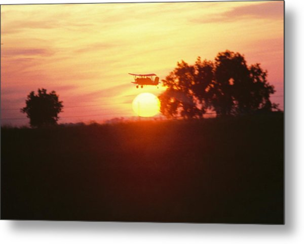 Up Before The Sun Metal Print by Trent Mallett