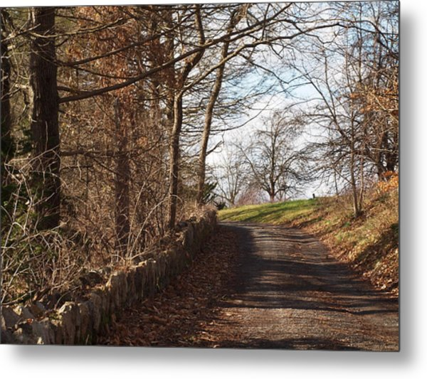 Up Over The Hill Metal Print