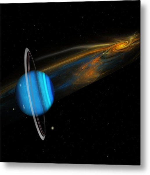 Uranus Metal Print