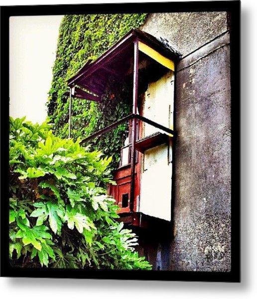 Urban Decay - Rusty Door #rust #door Metal Print