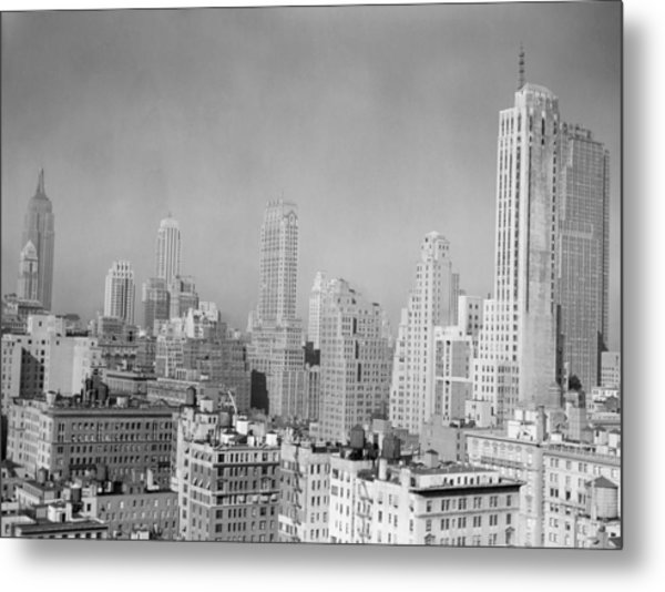 Urban Landscape/architecture Metal Print by George Marks