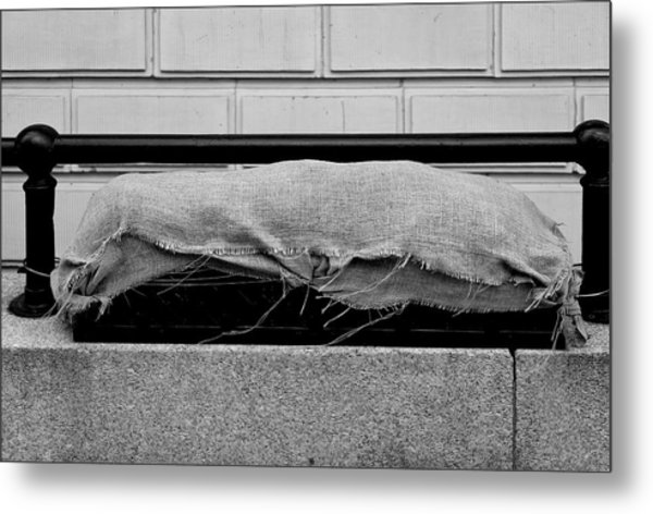 Urban Sarcophagus Metal Print by Robert Ullmann