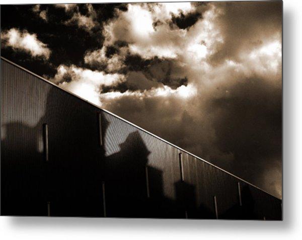 Urban Sky Metal Print by Anton Ishmurzin