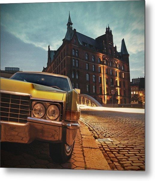 Us Car Metal Print by Nina Papiorek
