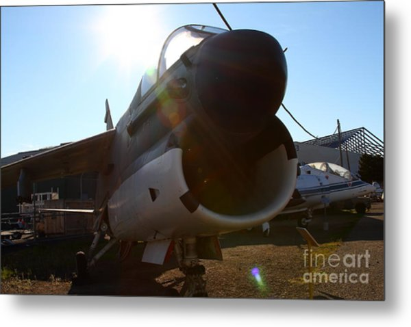 Us Fighter Jet Plane . 7d11296 Metal Print by Wingsdomain Art and Photography