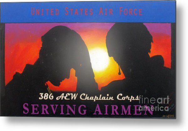 Usaf - Chaplain Corps Metal Print by Unknown
